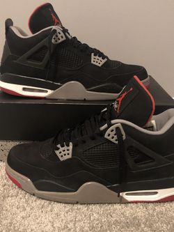 Jordan 4 Bred (Size 13) for Sale in North Haven,  CT