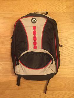MetroPack Back Bookbag Backpack Gray Red Black for Sale in Chapel Hill,  NC