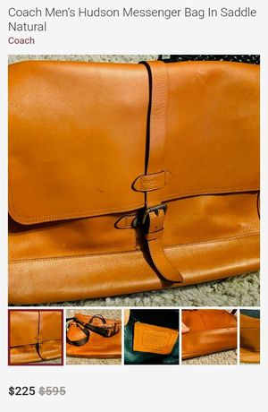 Coach Men's Hudson Messenger Bag for Sale in Fort Worth, TX