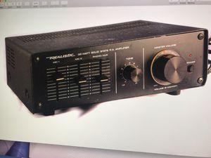 Realistic 35 watt PA amp for Sale in Reston, VA