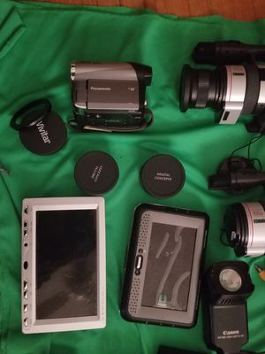 Video cameras and equip for Sale in Long Beach, CA