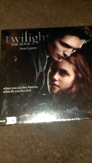 Twilight the movie board game collectible for Sale in Tulsa, OK