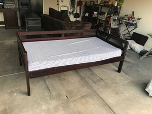 Twin bed or day bed with memory foam matress for Sale in AZ, US