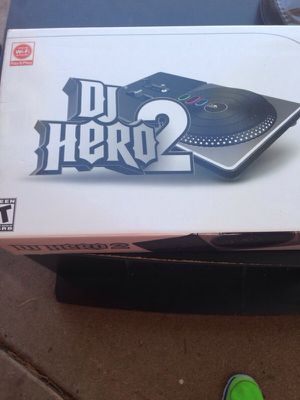 DJ hero 2 for wii for Sale in Scottsdale, AZ
