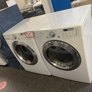 LG Front Load Washer And Electric Dryer Set Excellent Conditions 4 Months Warranty for Sale in Laurel, MD