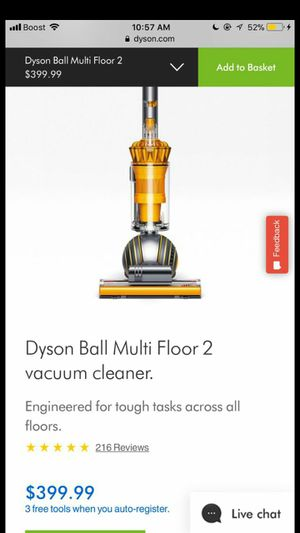 Dyson vacuum for Sale in Columbus, OH