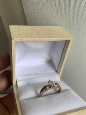 14k yellow gold diamond ring size 5.5 for Sale in Washington, DC