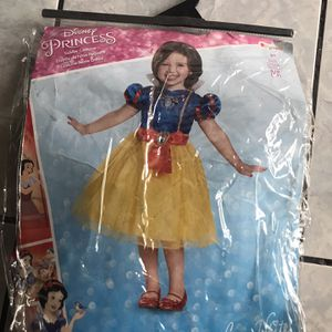 Disney Princess Snow White Toddler Classic Costume - 2T for Sale in Inglewood, CA