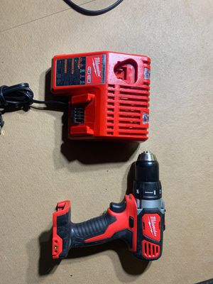 Milwaukee drill and charger only for Sale in Rialto, CA