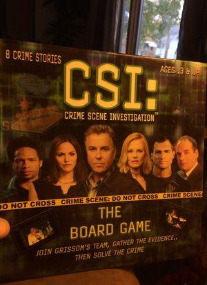 CSI board game for Sale in Newark, OH