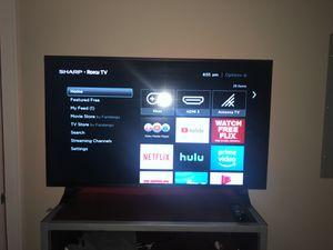 "40"" Sharp Roku smart tv (1080p) for Sale in Orono, ME"