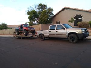 Crawler hauler side by side trailer for Sale in Mesa, AZ