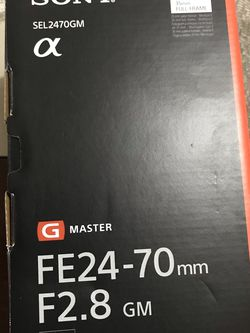 Sony G Master FE 24-70 mm F2.8 GM for Sale in Miami,  FL