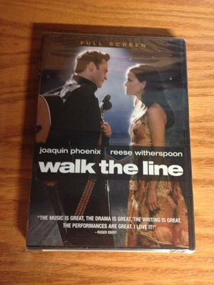 Walk The Line DVD - BRAND NEW, STILL SEALED for Sale in Ballwin, MO