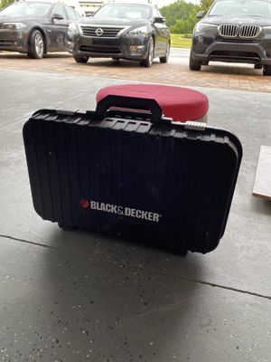 Tool box black&decker for Sale in Oviedo, FL