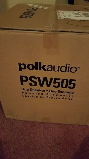 Polk Audio Sub woofer PSW505 for Sale in Canton, MI