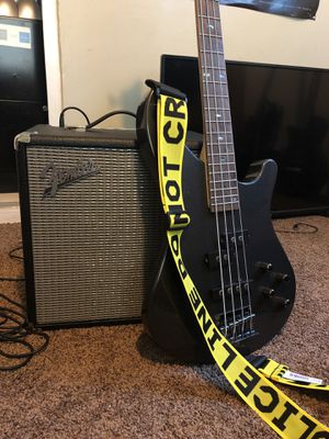 Fender Rumble 25W and Mitchell Bass MB200 for Sale in Santa Ana, CA