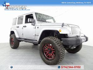2017 Jeep Wrangler for Sale in McKinney, TX