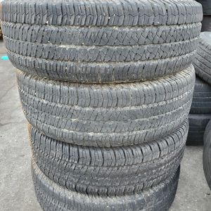 (4) 255/75r17 Goodyear Tires 255 75 17 Inch for Sale in Port St. Lucie, FL