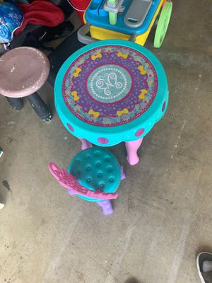 Kids table and chair for Sale in Chula Vista, CA