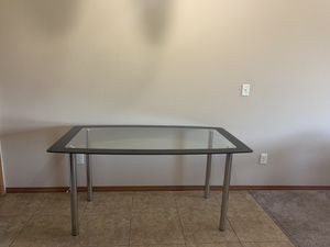 Glass dining table for Sale in Normal, IL