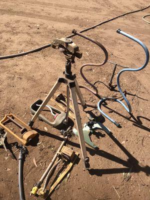 Mis yard sprinklers. 40$ take all for Sale in Riverside, CA