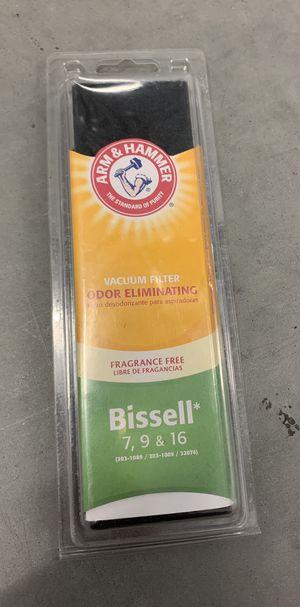 Bissell 7 9 16 Odor Eliminating Vacuum Filter Fragrance Free Arm and Hammer for Sale in Davenport, FL