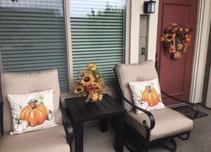 Patio Chairs & Foot Stool (Table not included) for Sale in Huntington Beach, CA