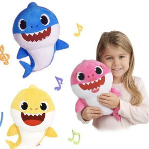 Baby Shark Plush Singing LED Light Plush Toys Music Doll English Song Toy Gift, Whole set for Sale in Virginia Beach, VA