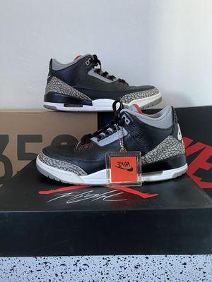 Jordan 3 Black Cement (2018) - Size 11 for Sale in Sunnyvale, CA