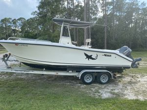 232 mako 2000 w twin 130 Yamahas and trailer for Sale in Palm City, FL