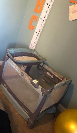 Playpen and changing table free for Sale in Riverside, CA