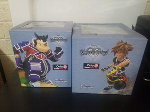 Disney Kingdom Hearts Pete and Sora Statue for Sale in Phoenix, AZ