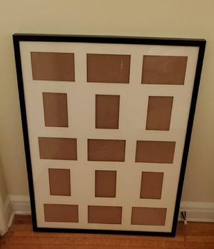 Black frame, IKEA Ribba for Sale in Los Angeles, CA