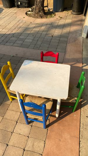 Wood table for kids for Sale in Santa Ana, CA