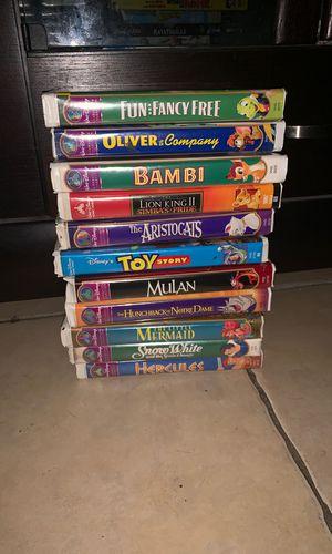 Disney VHS tapes for Sale in Miami, FL
