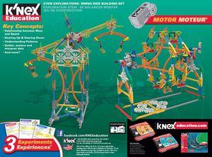 K'nex Stem Explorations Swing Ride Building Set for Sale in Monrovia, CA