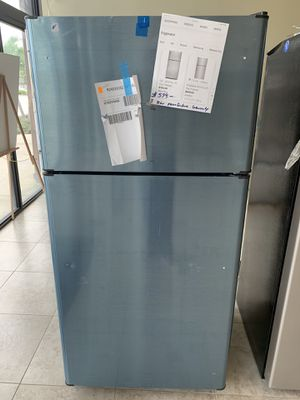 "New 20.8 CuFt Top Freezer GE Stainless Steel 31"" W. X 66"" H. 1 Year Manufacture Warranty for Sale in Lake Worth, FL"