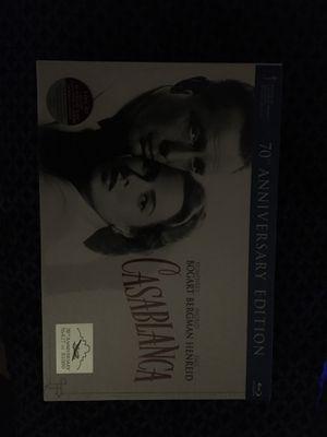 Casablanca Blu-Ray set 70th anniversary edition for Sale in Richardson, TX