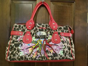 Ed Hardy Leopard Print Bag for Sale in Pinetop, AZ
