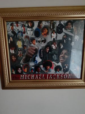MJ (Michael Jackson)Picture Frame for Sale in Memphis, TN