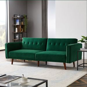"Taliaferro Velvet 86"" Wide Square Arm Sofa for Sale in San Diego, CA"