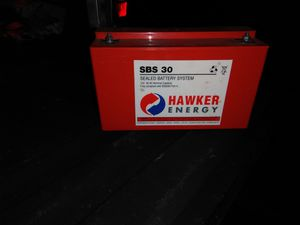 Hawker energy sbs 30, 12 volt battery for Sale in Swansea, MA