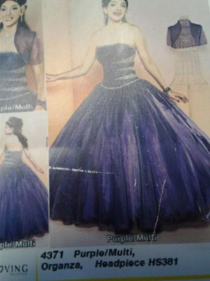 Quinceanera Mary's long dress for Sale in Albuquerque, NM