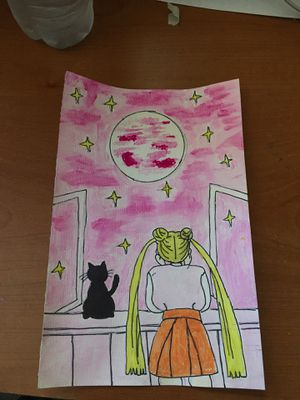 Sailor Moon looking out the window for Sale in Santa Maria, CA