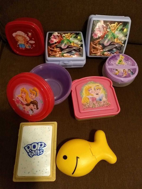 Tupperware & Lunch Containers