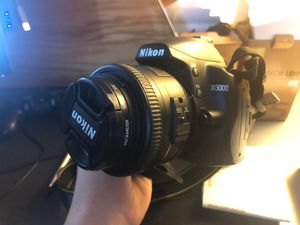 Nikon D3000 with 2 lenses for Sale in Wakefield, MA