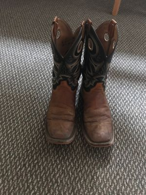Justin work cowboy boots for Sale in Mount Prospect, IL