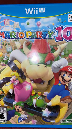 Mario Party 10 for WiiU for Sale in North Las Vegas, NV