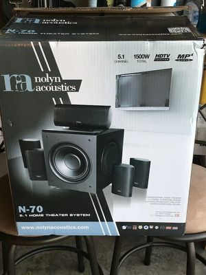 NOLYN 5,1 home theater system for Sale in Palm Beach Gardens, FL